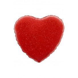 "Folie ballon Hart 18 45.7 cm rood"""