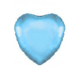 """Folie ballon Hart 18 45.7 cm licht blauw"""""""