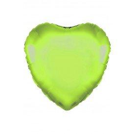 """Folie ballon Hart 18""""45.7 cm groen"""