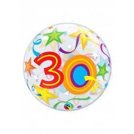 Single BUBBLE balloon 22 inch 30