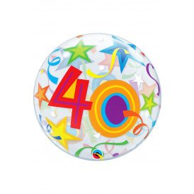 Single BUBBLE balloon 22 inch 40