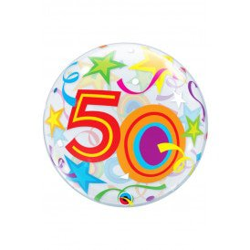 Single BUBBLE balloon 22 inch 50