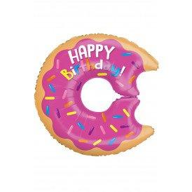"Folie ballon 28 "" Birthday donut"