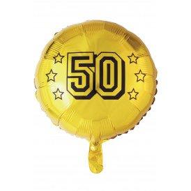 "Folie ballon 18 "" 50th anniversary"