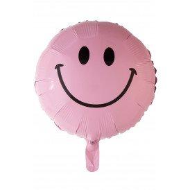 "Folie ballon 18 "" Smile baby pink"