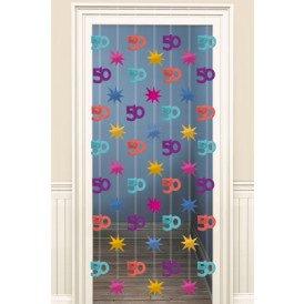 Doorway Danglers 200 cm 50 jaar