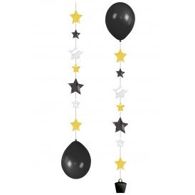 Balloon Tails 3 x Stars 1 m