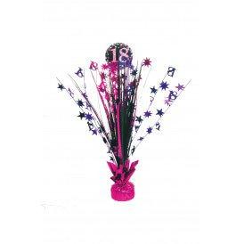 Tafel deco Sparkling pink 18