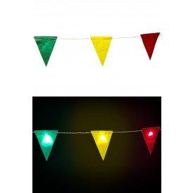 Vlaggenlijn met verlichting rd gl g