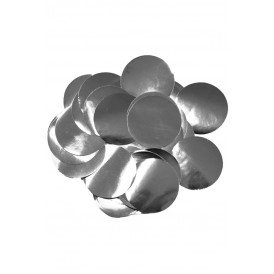 Confetti zilver 14 gram metaalfolie