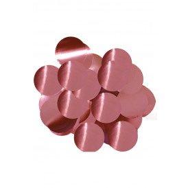 Confetti roze 14 gram metaalfolie