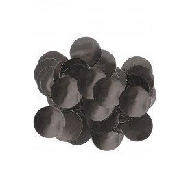 Confetti zwart 14 gram metaalfolie