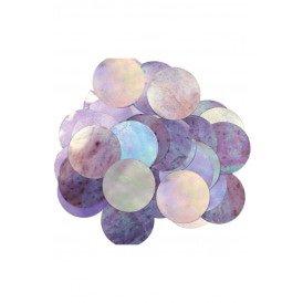 Confetti iridescent 14 gram metaalfolie