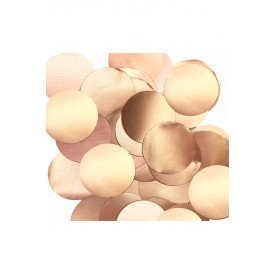 Confetti rose goud 14 gram metallic pearl