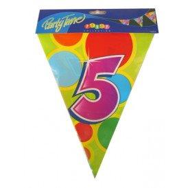 Vlaggenlijn leeftijd: 5 p.e. 10m