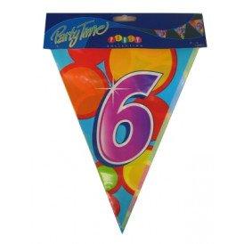 Vlaggenlijn leeftijd: 6 p.e. 10m