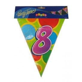 Vlaggenlijn leeftijd: 8 p.e. 10m