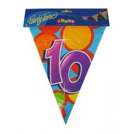Vlaggenlijn leeftijd: 10 p.e. 10m