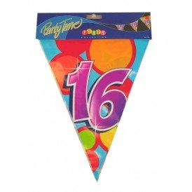 Vlaggenlijn leeftijd: 16 p.e. 10m