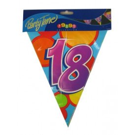 Vlaggenlijn leeftijd: 18 p.e. 10m