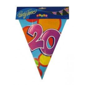 Vlaggenlijn leeftijd: 20 p.e. 10m