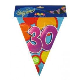 Vlaggenlijn leeftijd: 30 p.e. 10m