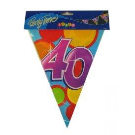 Vlaggenlijn leeftijd: 40 p.e. 10m