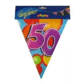 Vlaggenlijn leeftijd: 50 p.e. 10m