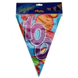 Vlaggenlijn leeftijd: 100 p.e. 10m