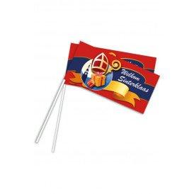 Zwaaivlaggetje Sinterklaas per 50