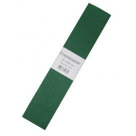 Crepe papier groen 250x50cm