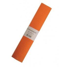 Crepe papier  oranje 250x50cm