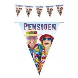Vlaggenlijn pe 6 m pensioen
