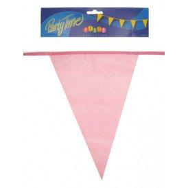 Vlaggenlijn pe roze 10m