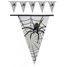 Vlaggenlijn spin (Halloween) 6m
