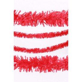 P.V.C. slinger brandvertragend rood 10m