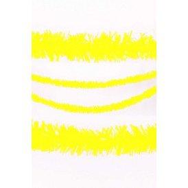 P.V.C. slinger brandvertragend geel 10m
