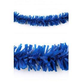 P.V.C. slinger brandvertragend blauw 10m