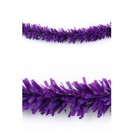 P.V.C. slinger brandvertragend paars 10m