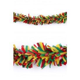 P.V.C. slinger brandvertragend rood/geel/groen 5 meter