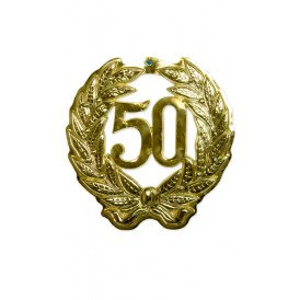 Jubileumkrans 50 jaar plastic 40 cm