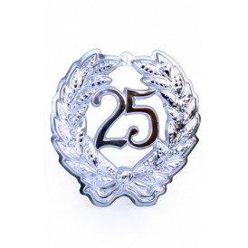 Jubileumkrans 25 jaar plastic 24 cm
