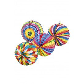 Lampion Bright Balloon 4 assortie