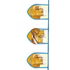 Vlaggenlijn bier fun 8 mtr 40x30cm
