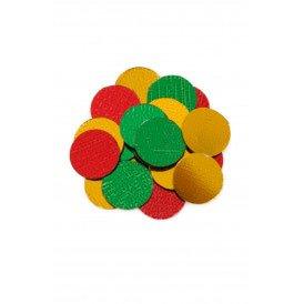 Confetti metallic 100 gram rd/gl/gr