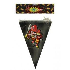 Vlaggenlijn piraat 6m