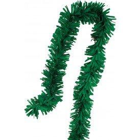 PVC folie draai guirlande groen 5 meter BRANDVEILIG