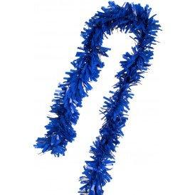 PVC folie draai guirlande blauw 5 meter BRANDVEILIG