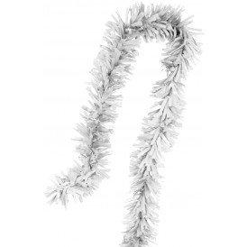 PVC folie draai guirlande wit 5 meter BRANDVEILIG