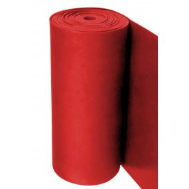 Decoratie foam op rol rood l 27m. x b 100 cm. x d 3 mm.